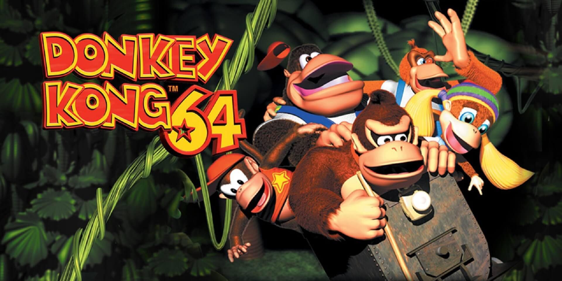 Donkey Kong 64: Der Kampf gegen die Echsenbande von K. Rool