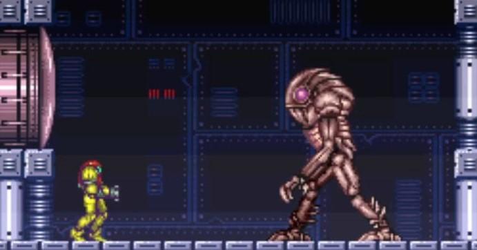 super-metroid-bosskampf