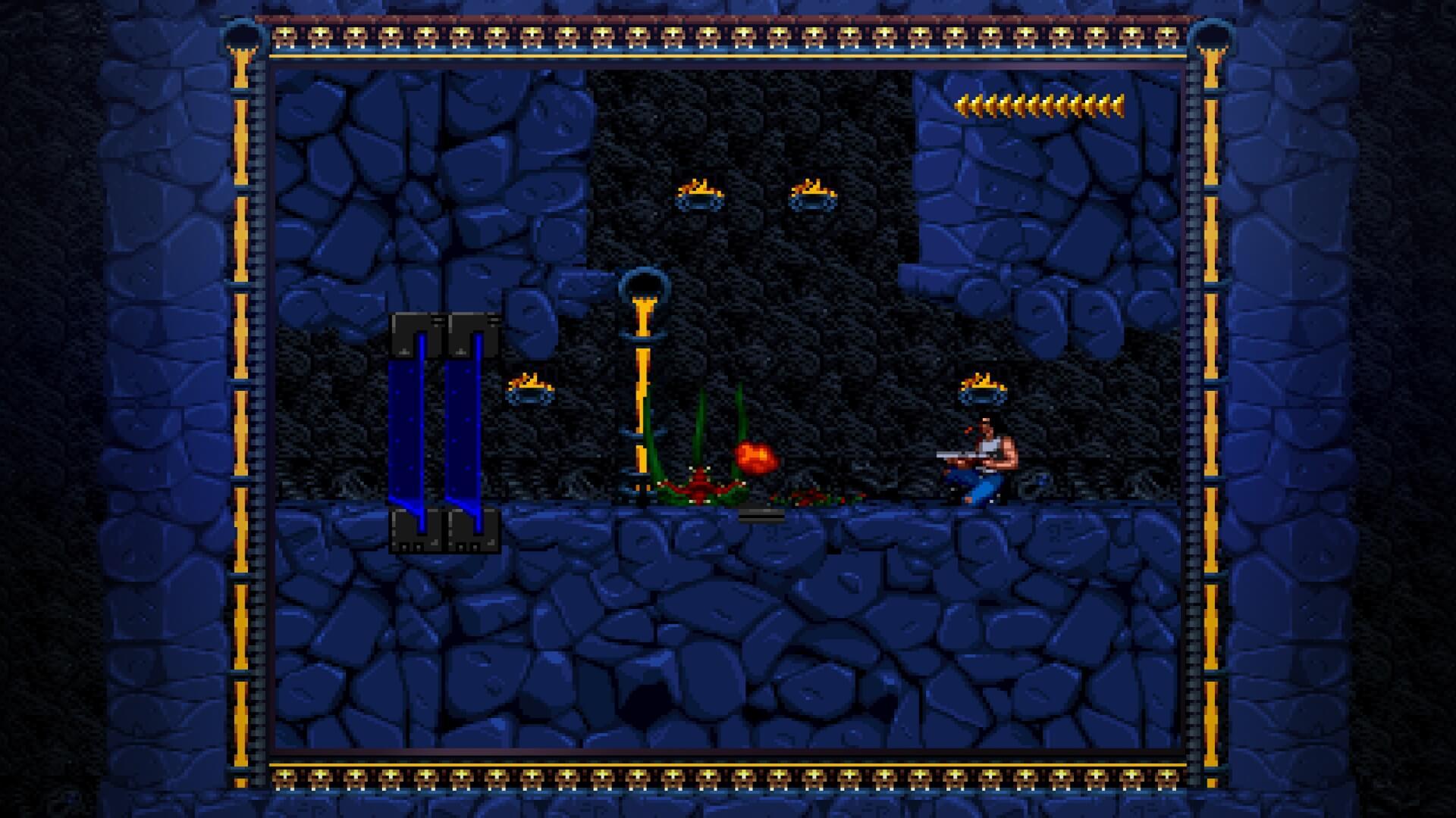 Blackthorne: Kampf gegen ein Tentakel-Monster