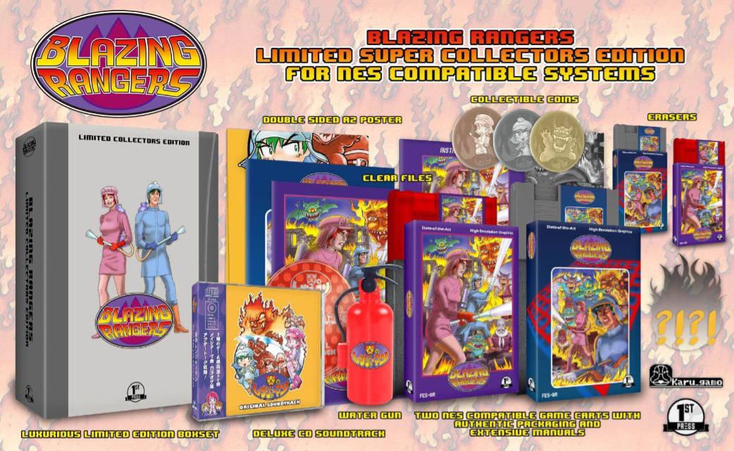 Blazing Rangers: Neues Spiel für das NES