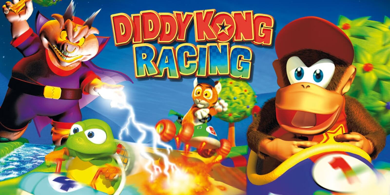 Diddy Kong Racing: Fun Racer als einzig wahrer Mario Kart-Konkurrent