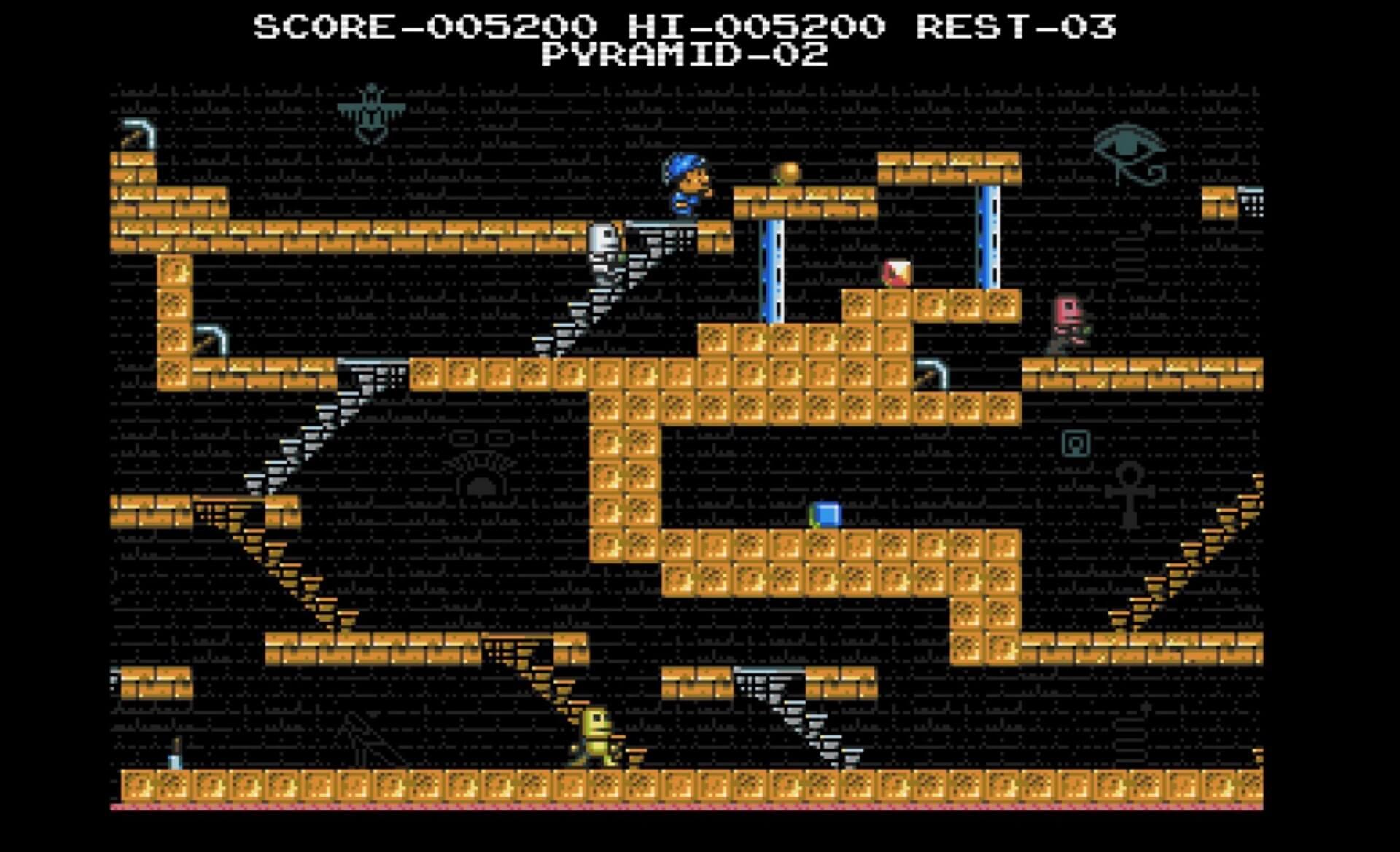 King´s Valley: Konamis Plattformer wird für den Amiga entwickelt