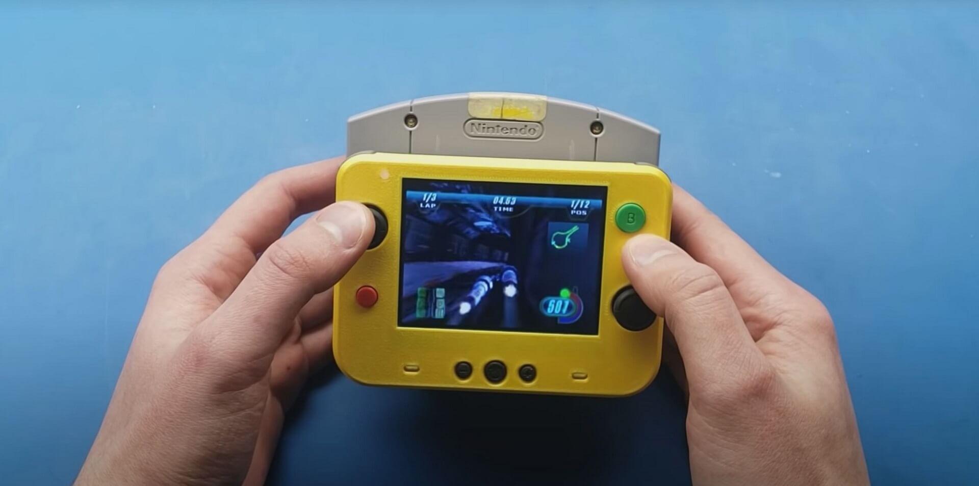 Nintendo 64: Von der Konsole zum Handheld – Kleinste N64 der Welt gebaut