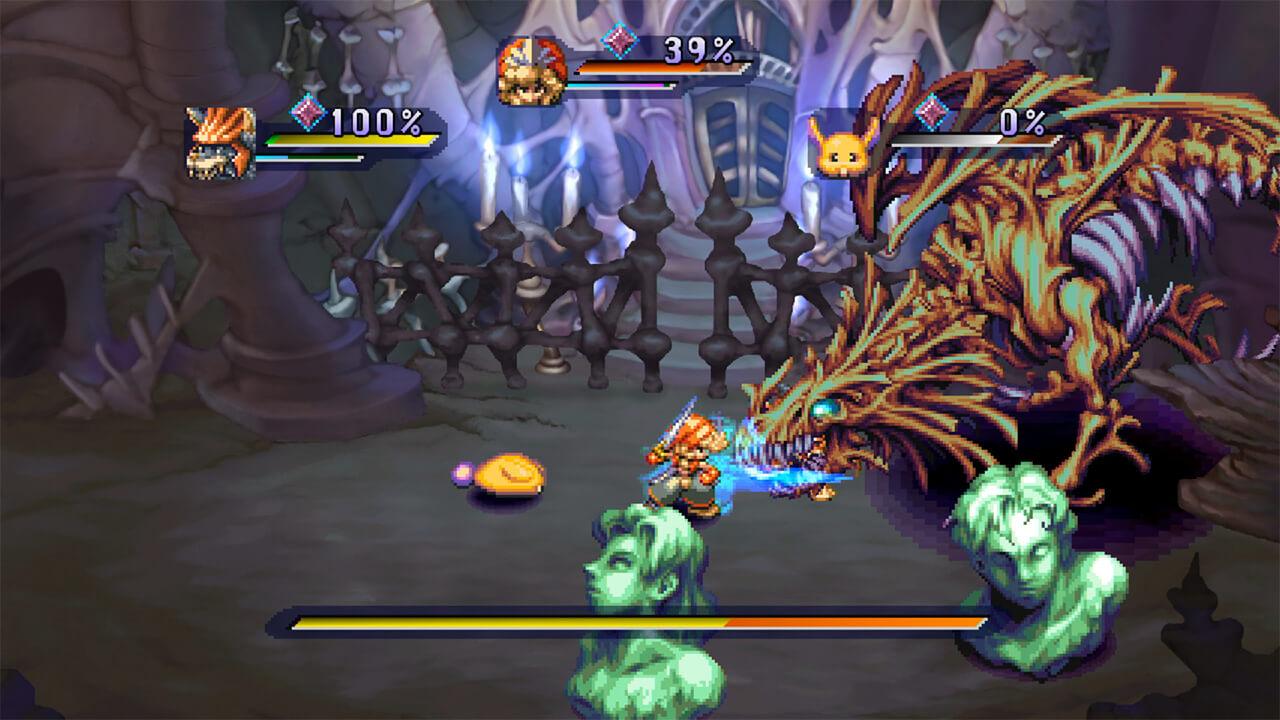 Legend of Mana Remaster: Kampf gegen den Drachen