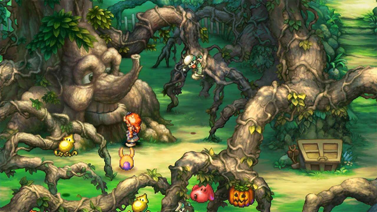 Legend of Mana Remaster: Protagonist spricht mit dem Manabaum