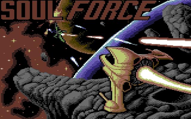 Soul Force: Neues Shoot-em-Up für den C64