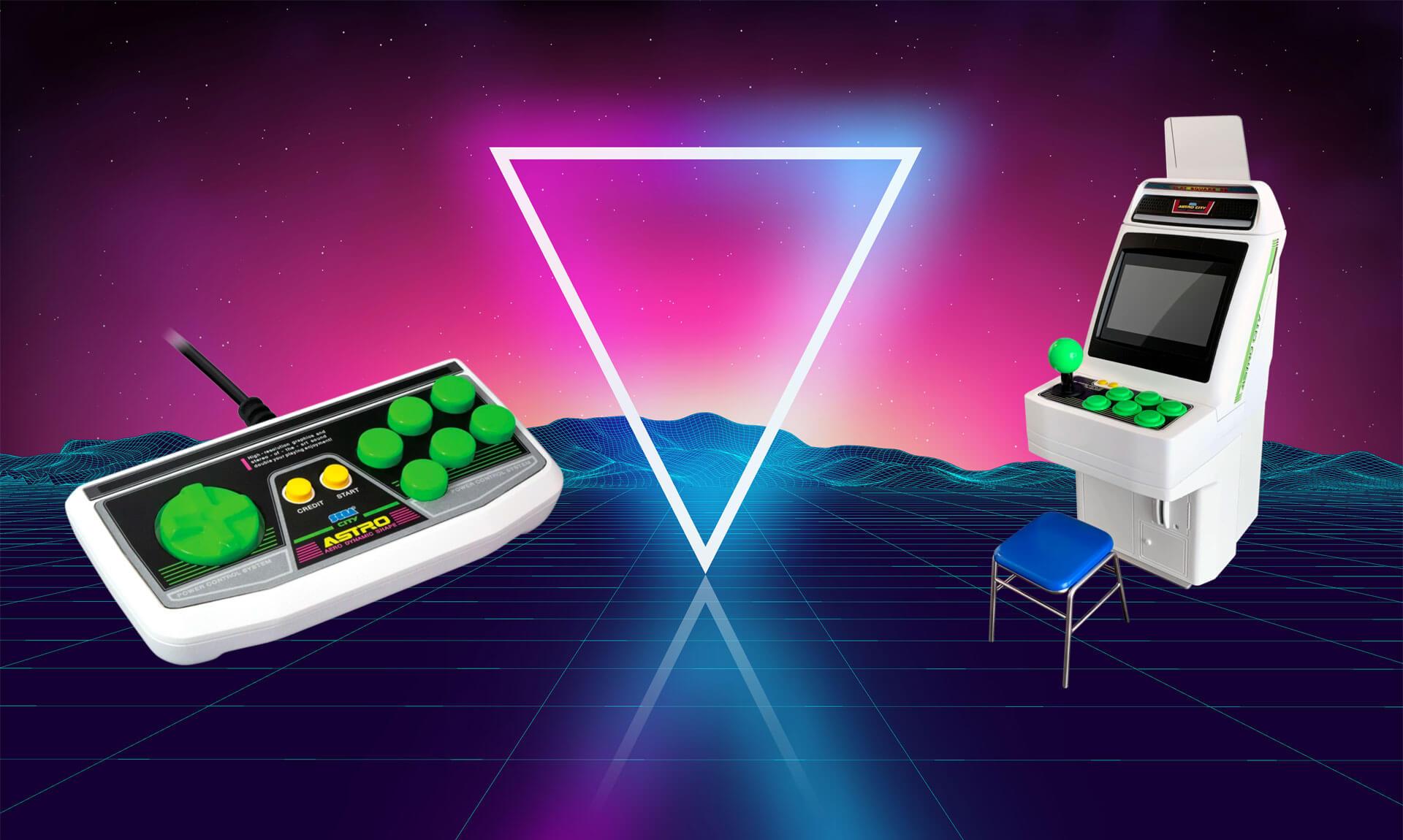 Sega-Arcade-Flair für zu Hause: Limit Run Games veröffentlicht Sega Astro City Mini