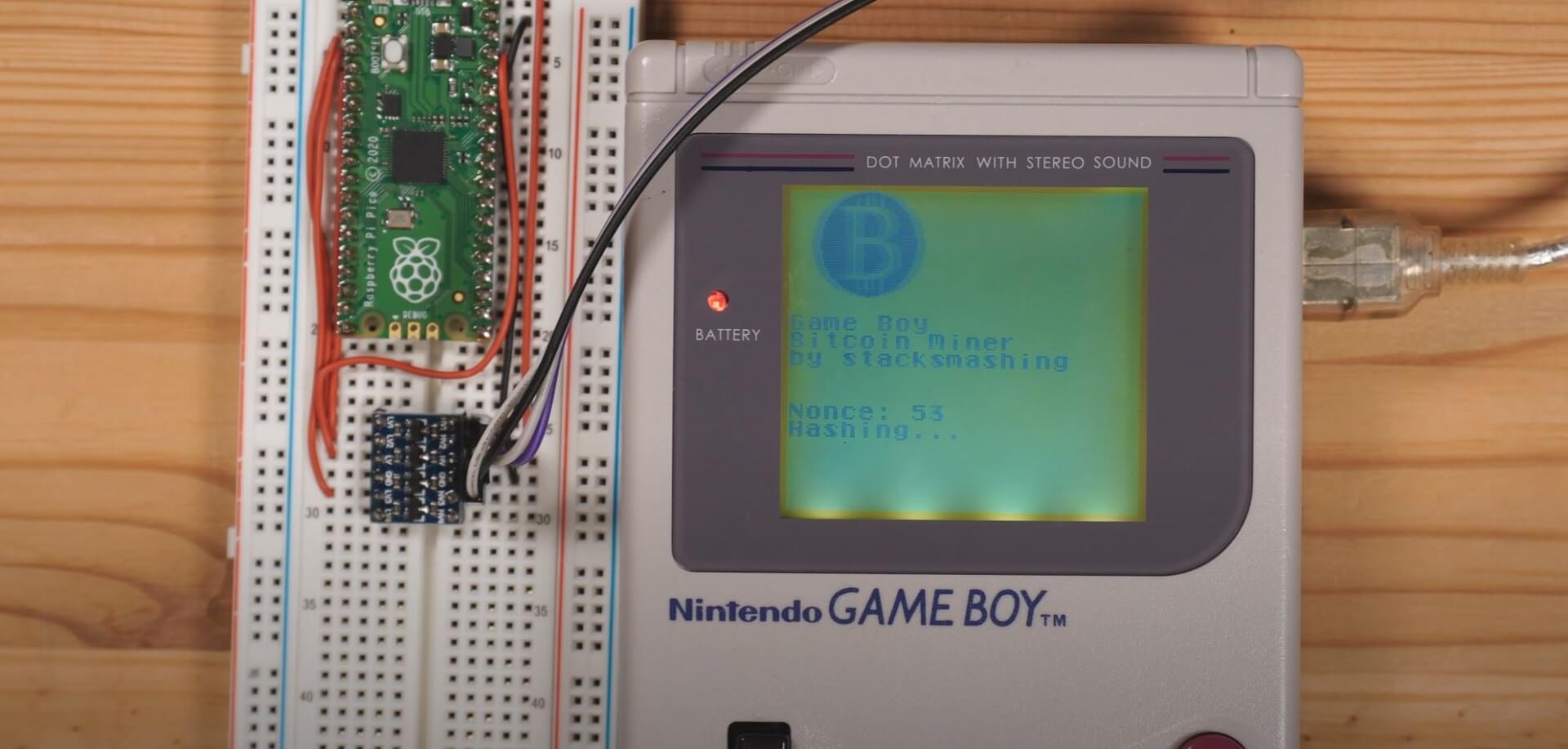 Game Boy: Kryptomining macht auch vor Retro-Handhelden keinen Halt