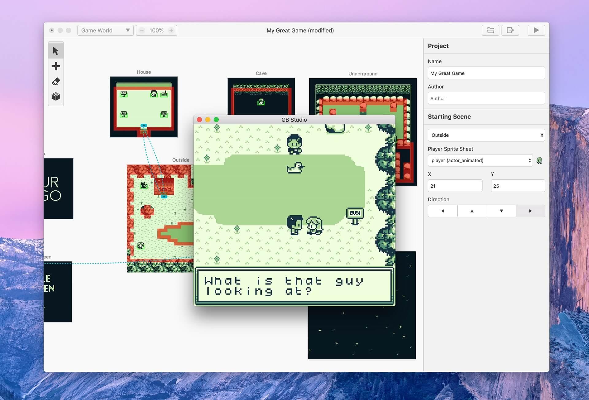 Eigene Game Boy-Adventure-Games entwickeln