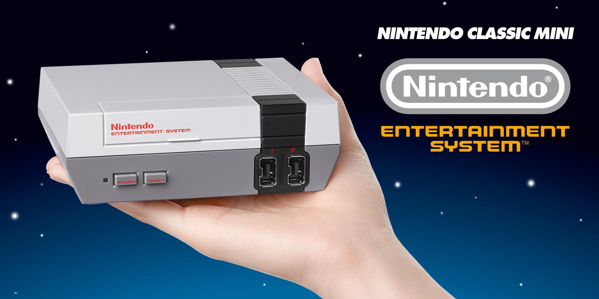 Retro-und Minikonsolen #2 NES Classic Mini: Nintendos erste Konsole im Miniformat