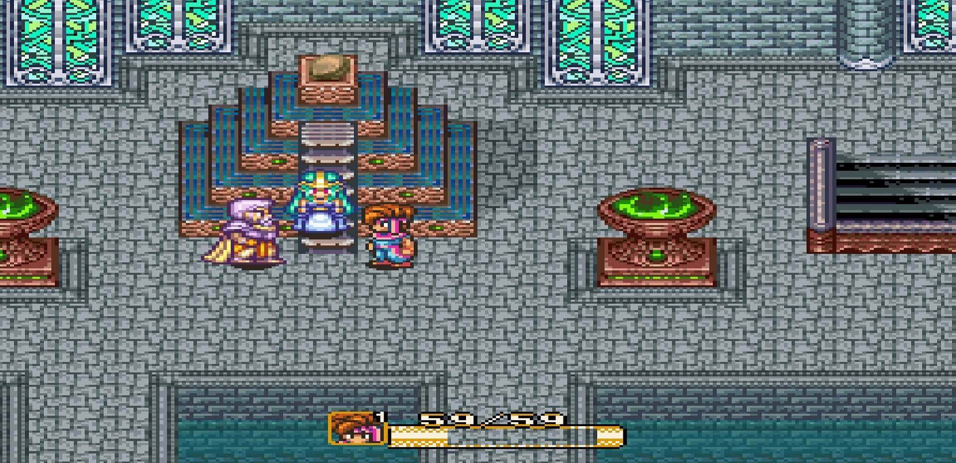 Secret of Mana: Held erfährt sein Schicksal im Wassertempel