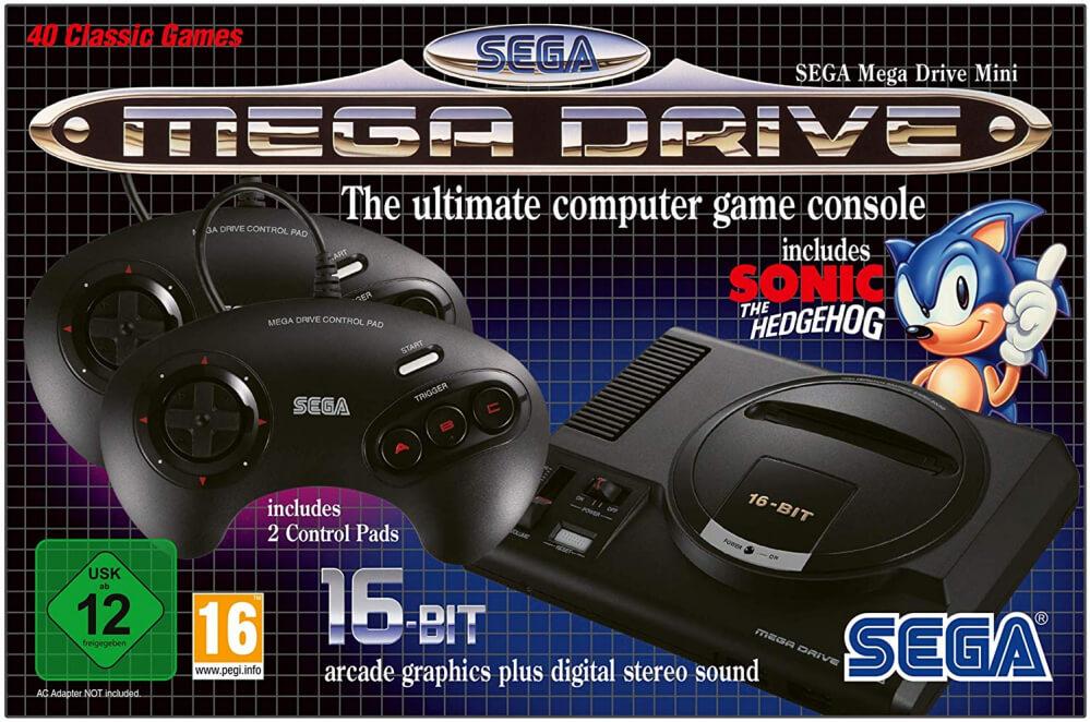 Retro- und Minikonsolen #1: Sega Mega Drive Mini