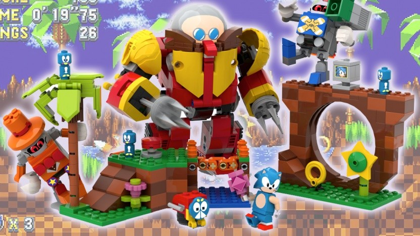 Sonic the Hedgehog: Sonic Lego Set