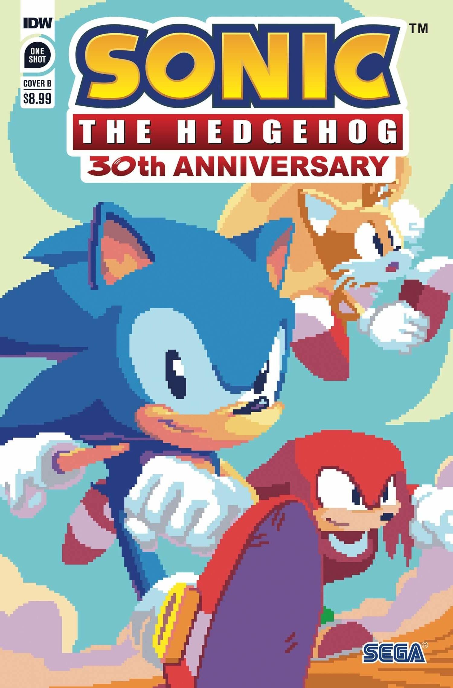 Sonic 30th Anniversary: Lego und Comics zum Jubiläum