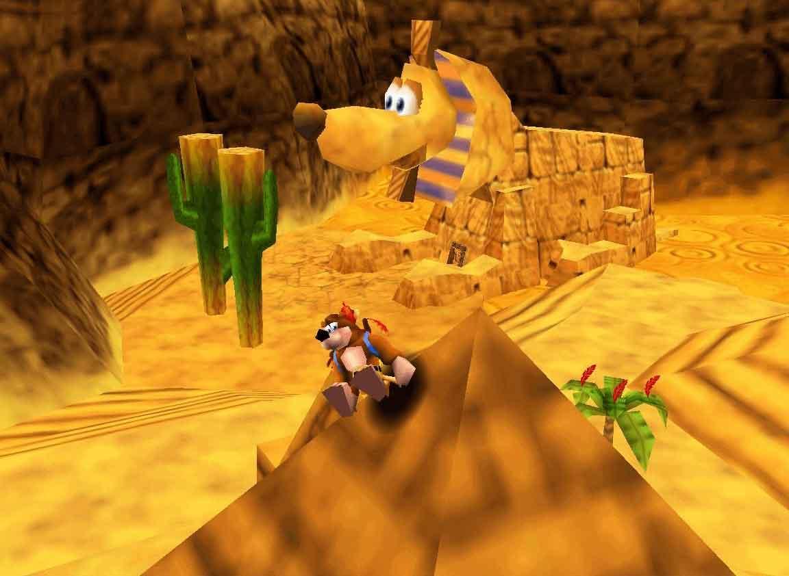 Banjo-Kazooie: Banjo und Kazooie lösen das Rätsel der Sphinx