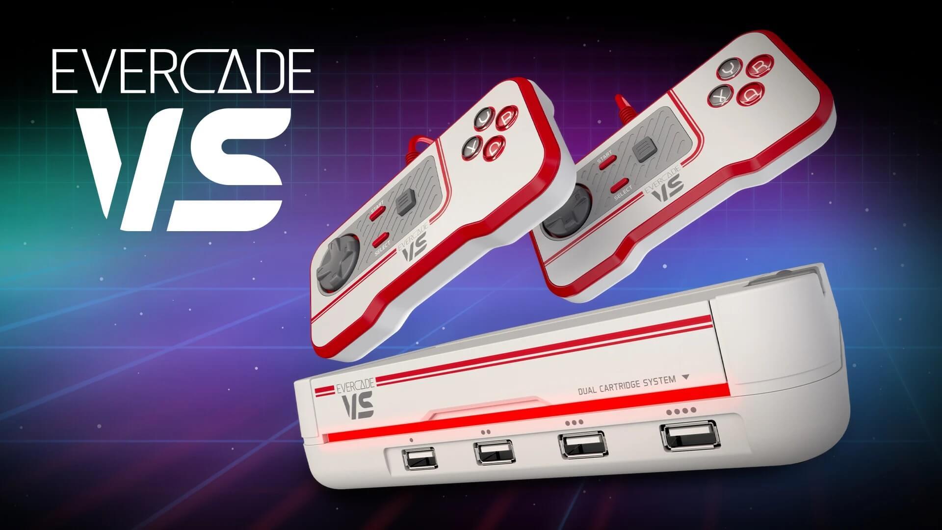Evercade VS: Neue Cartridge-basierte Retro-Konsole erscheint dieses Jahr