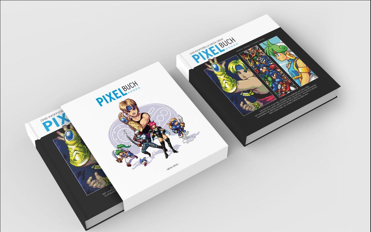 Inoffizielles Mega Drive Pixel-Buch kann jetzt vorbestellt werden