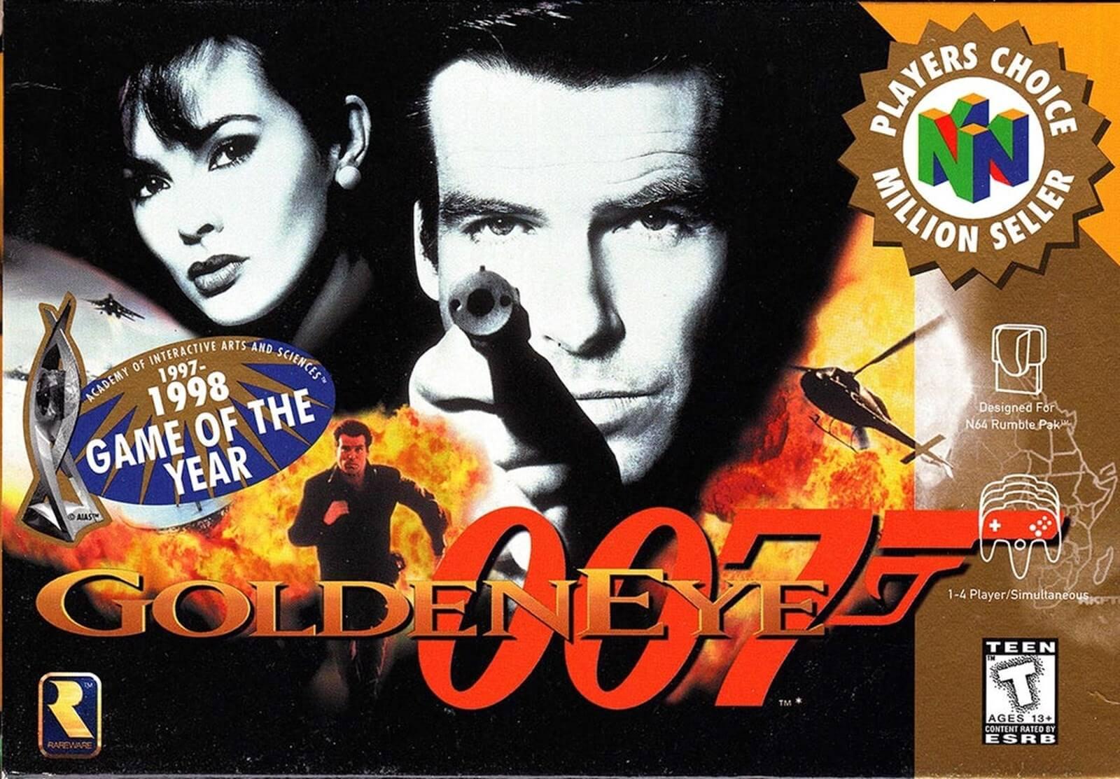 GoldenEye 007: Zeitloses Baller-Abenteuer lässt maue Filmvorlage weit hinter sich