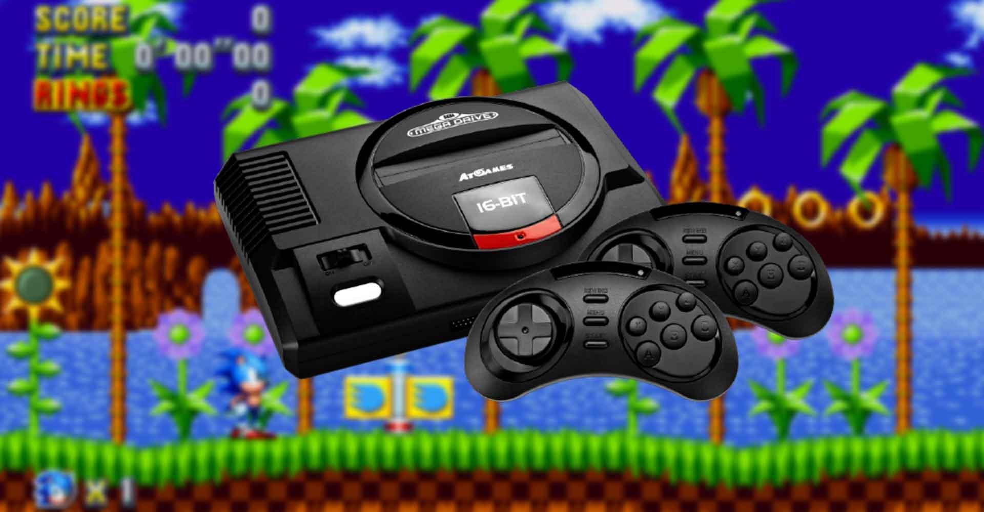 Sega Mega Drive Flashback HD (Edition 2019) Konsole