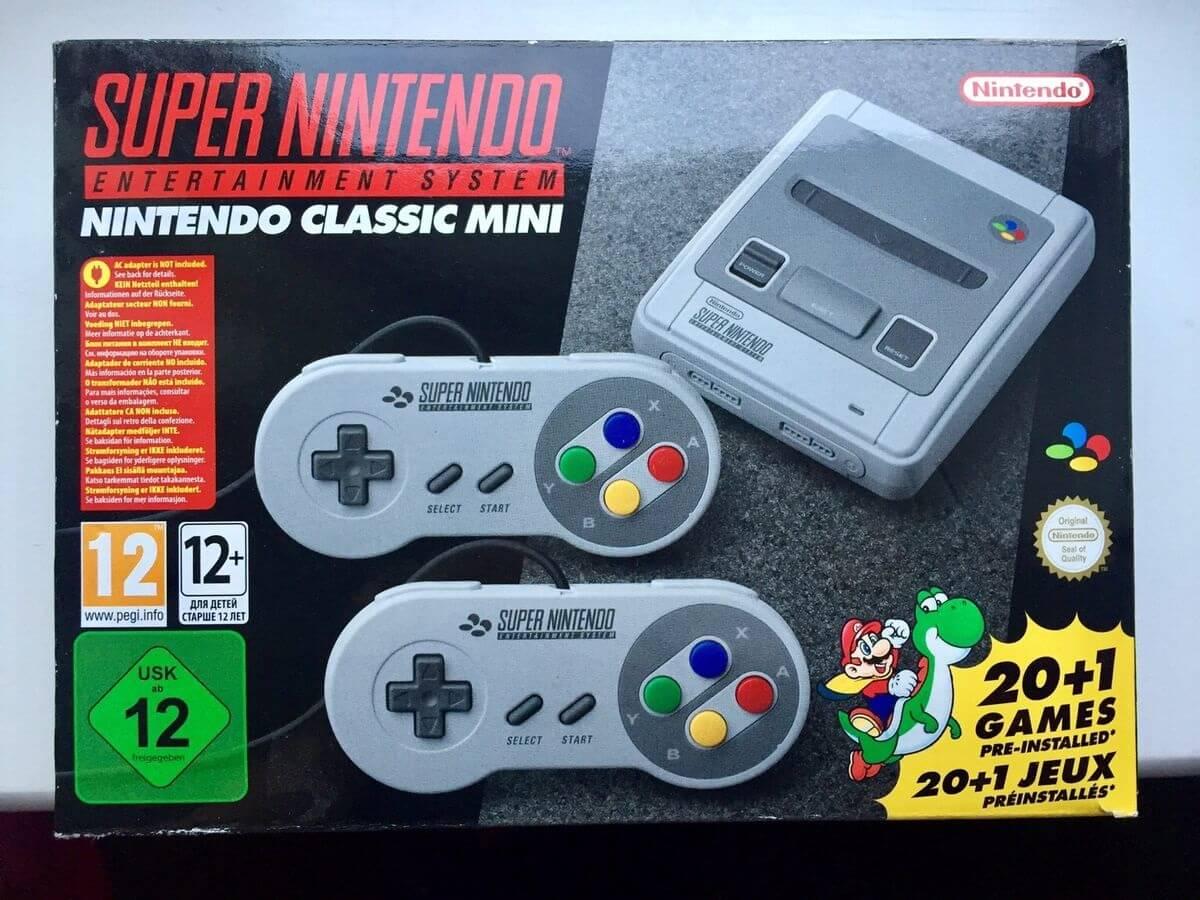 Super Nintendo Classic Mini Verpackung