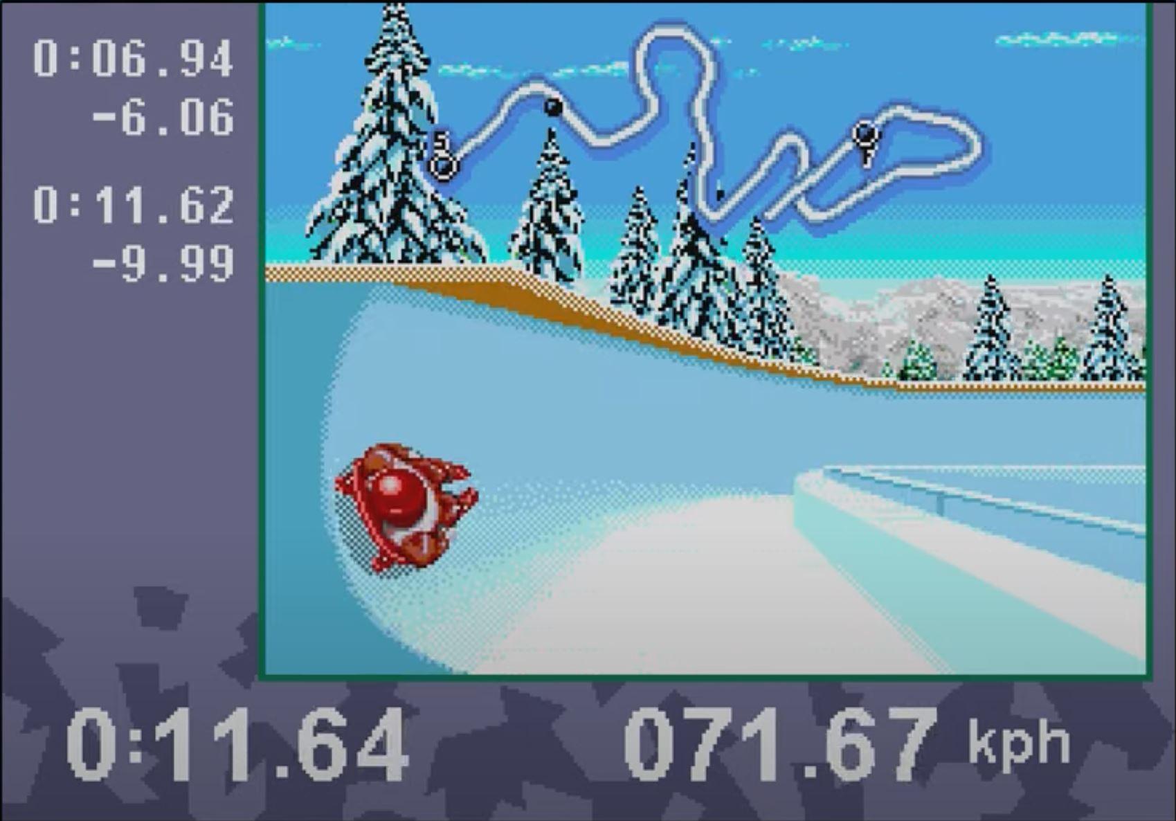 Winter Olympics Lillehammer94: Bob