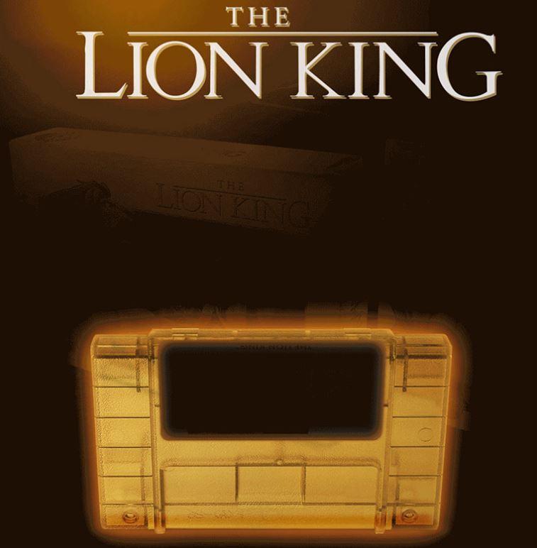 The Lion King Legacy Edition: US-Cartridge leuchtet im dunklen