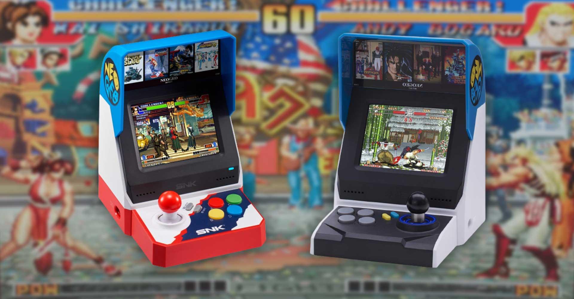 Retro- und Minikonsolen #6 Neo Geo Mini: Mini-Arcade-Automat mit Problemen