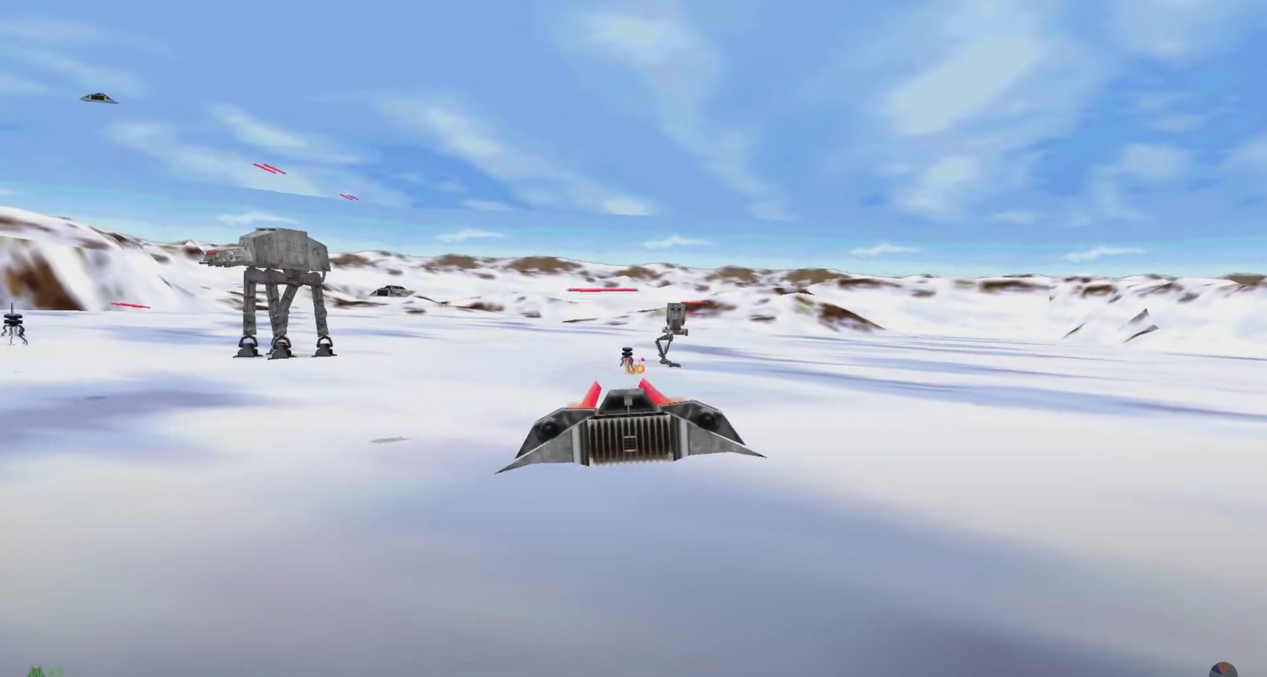 Star Wars Shadow of the Empire: Kampf auf Hoth