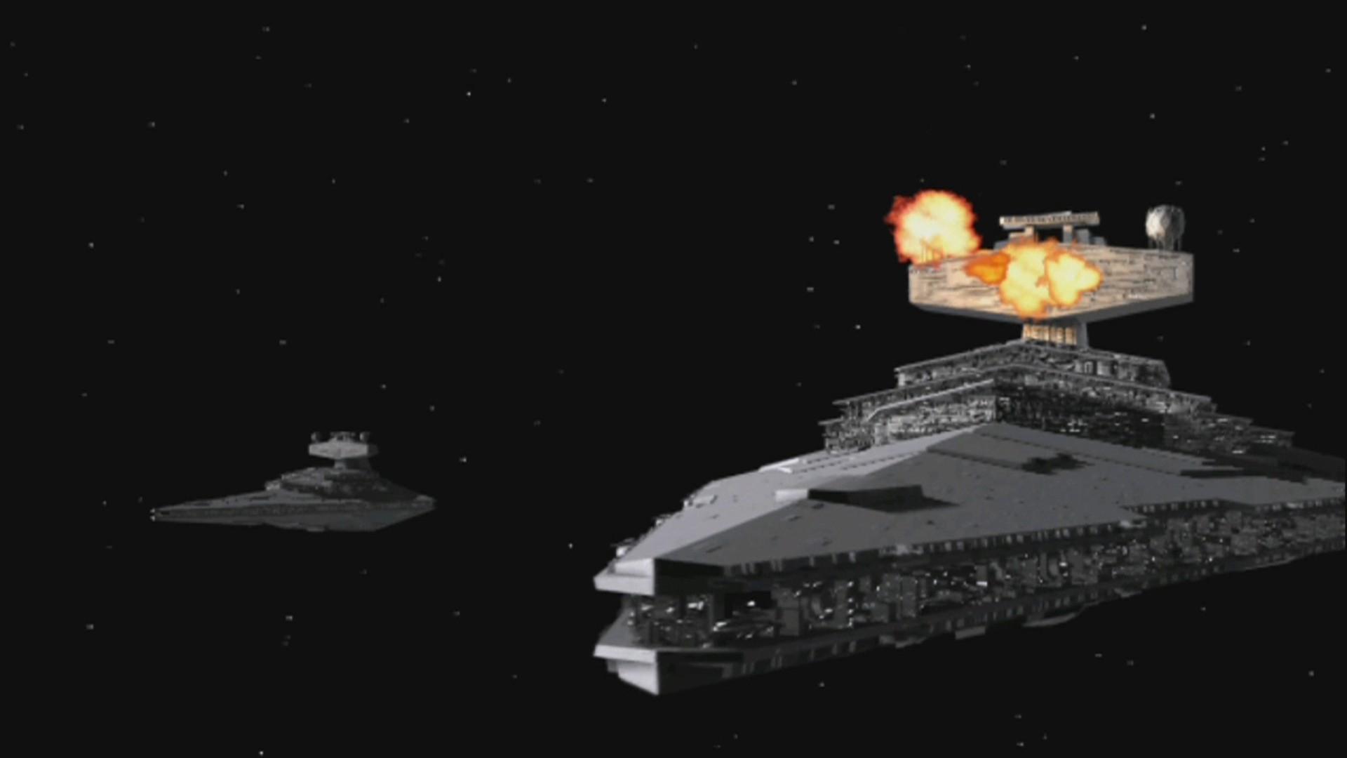 Star Wars X-Wing Alliance: Sternenzerstörer wird angegriffen