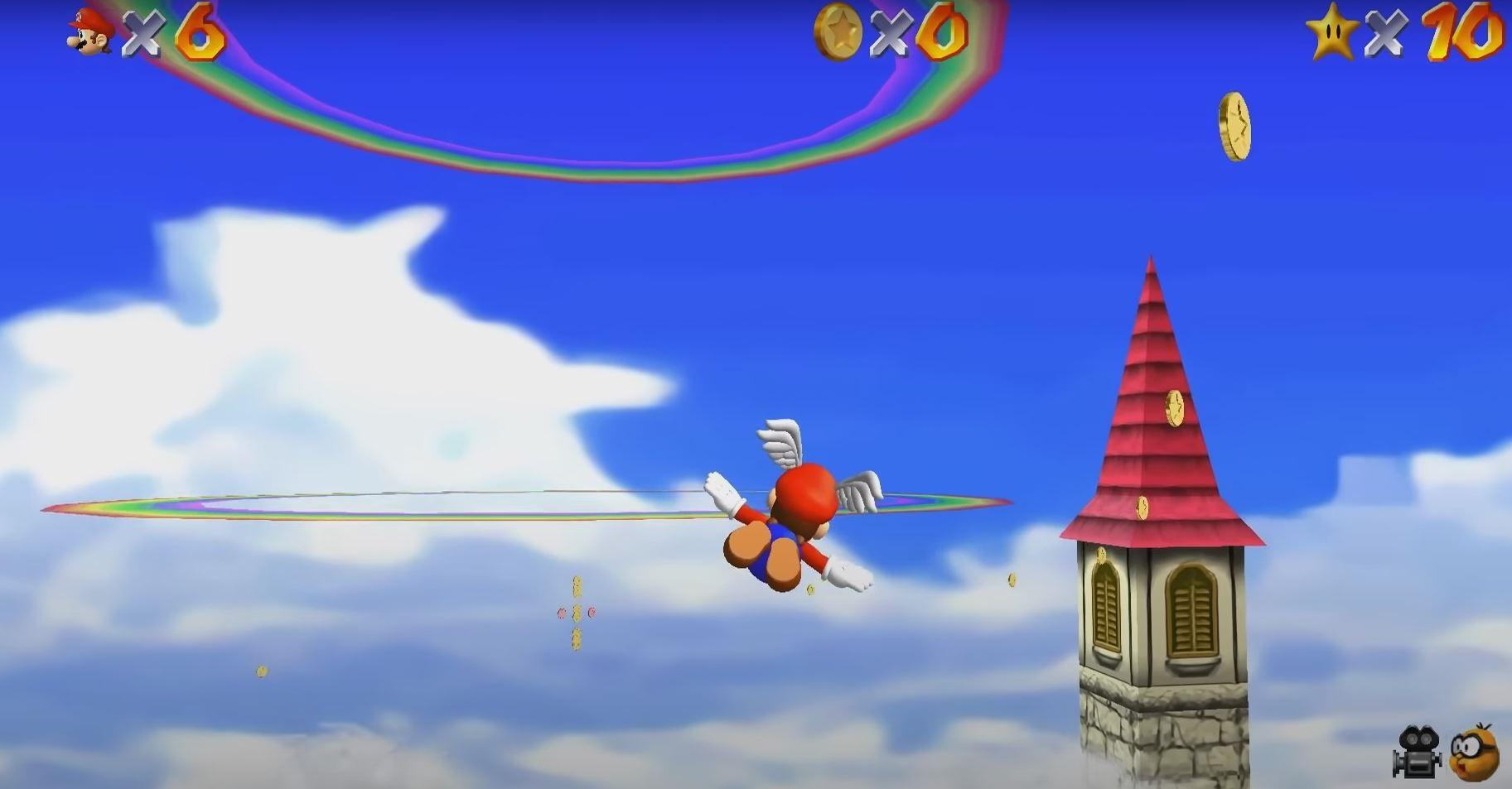 Super Mario 64: Moderne Grafiktechnik haucht Klassiker neues Leben ein