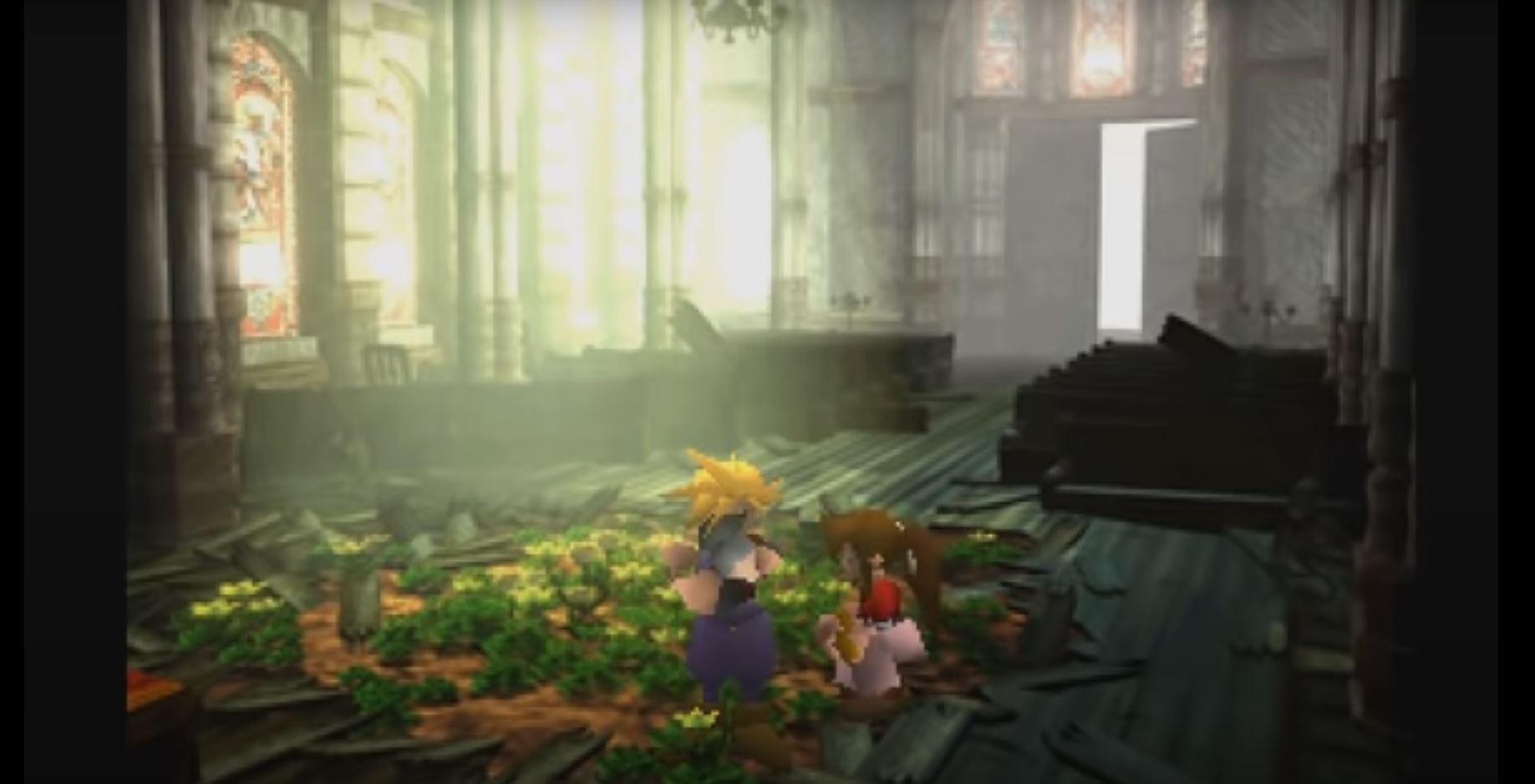 Final Fantasy 7: Cloud trifft das erste mal auf Aeris