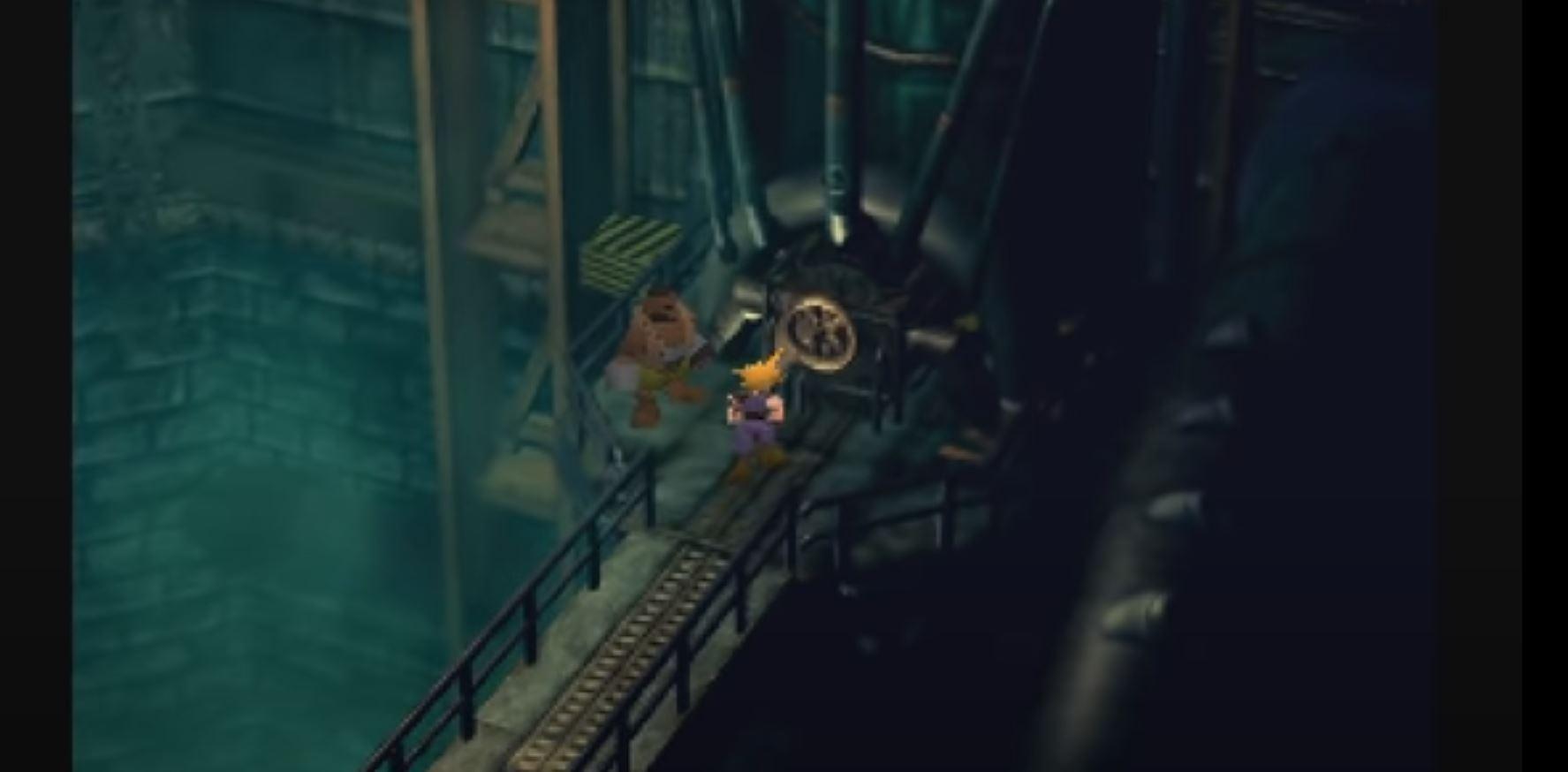 Final Fantasy 7: Cloud und Barret infiltrieren den Mako-Reaktor