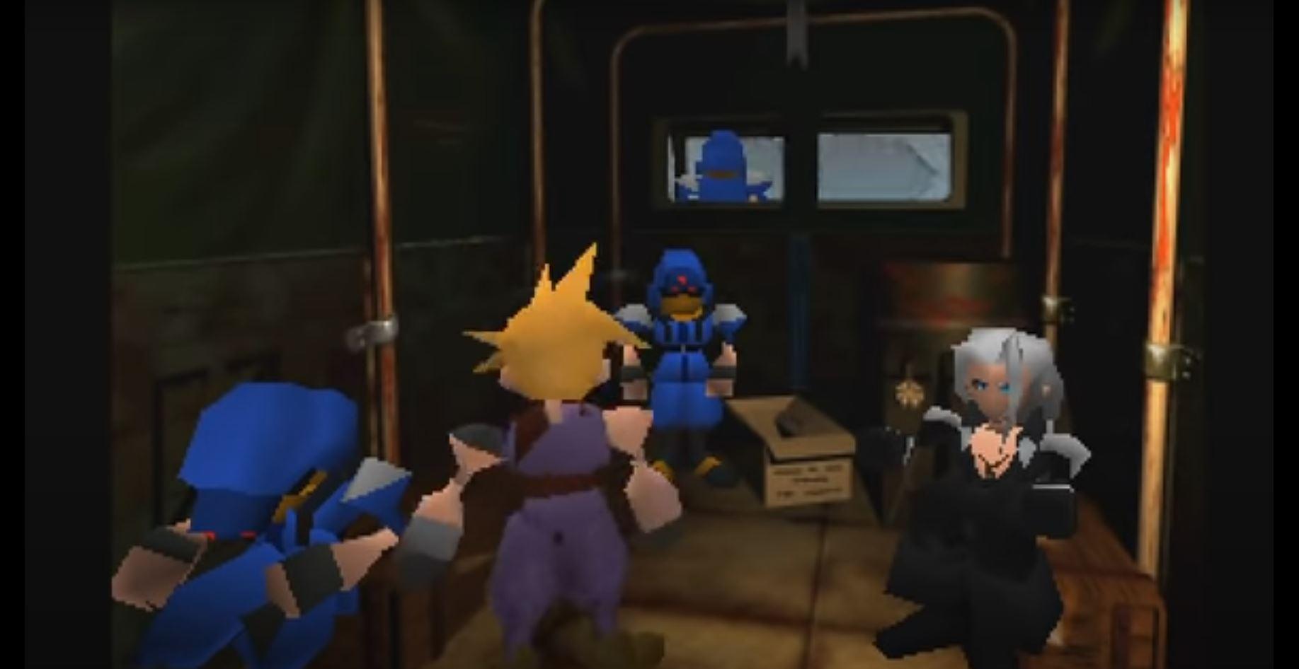 Final Fantasy 7: Cloud und Sephiroth haben früher in einer Einheit gedient