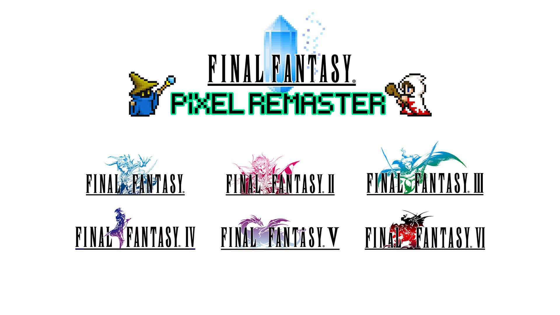 Final Fantasy 1-6 bekommen ein Pixel-Remaster