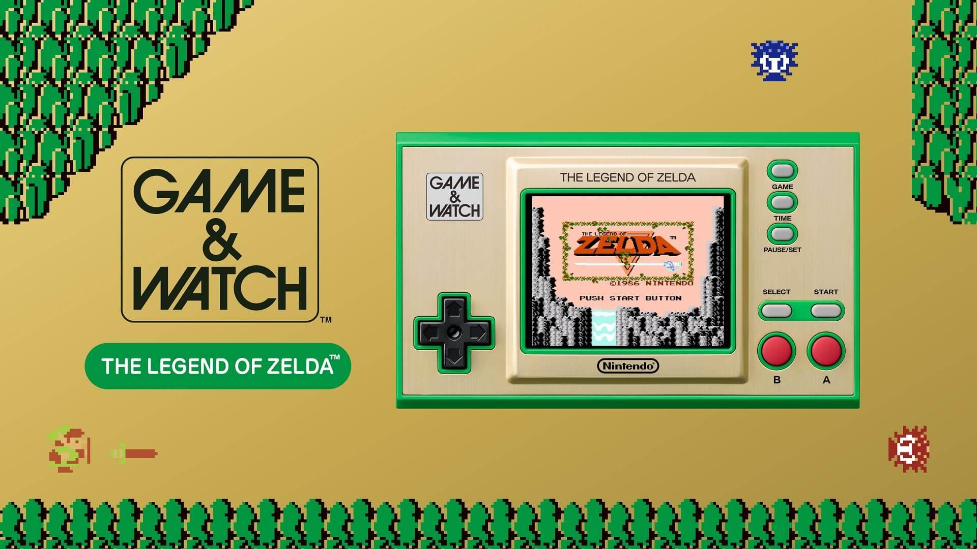 Nintendo: Game & Watch mit vier Titeln
