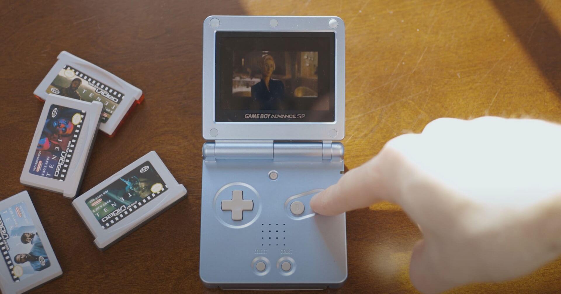 Kurioses: Film auf einer GBA-Cartridge