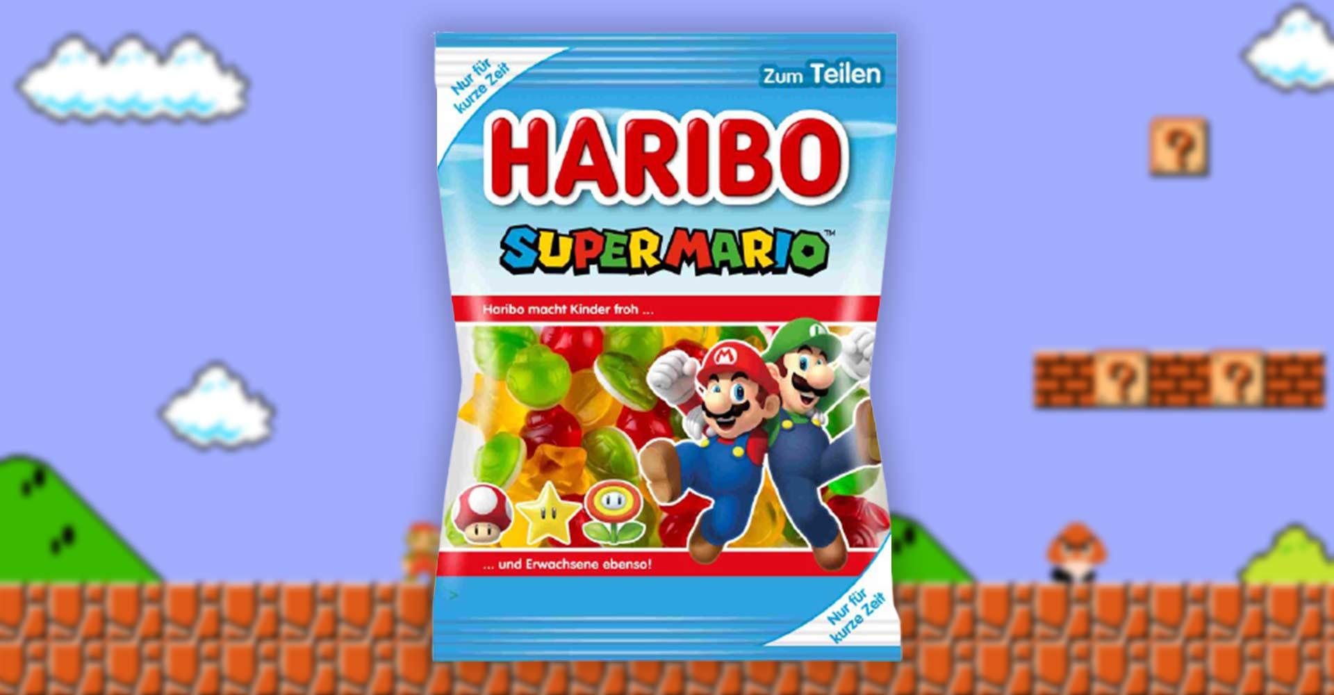 Super Mario zum Naschen