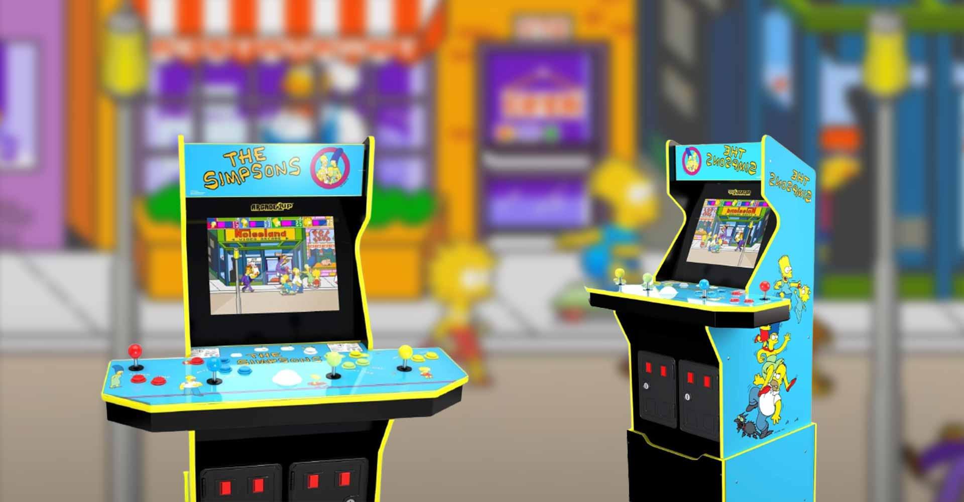 Arcade: Arcade-Spiel The Simpsons bekommt einen neuen Automaten
