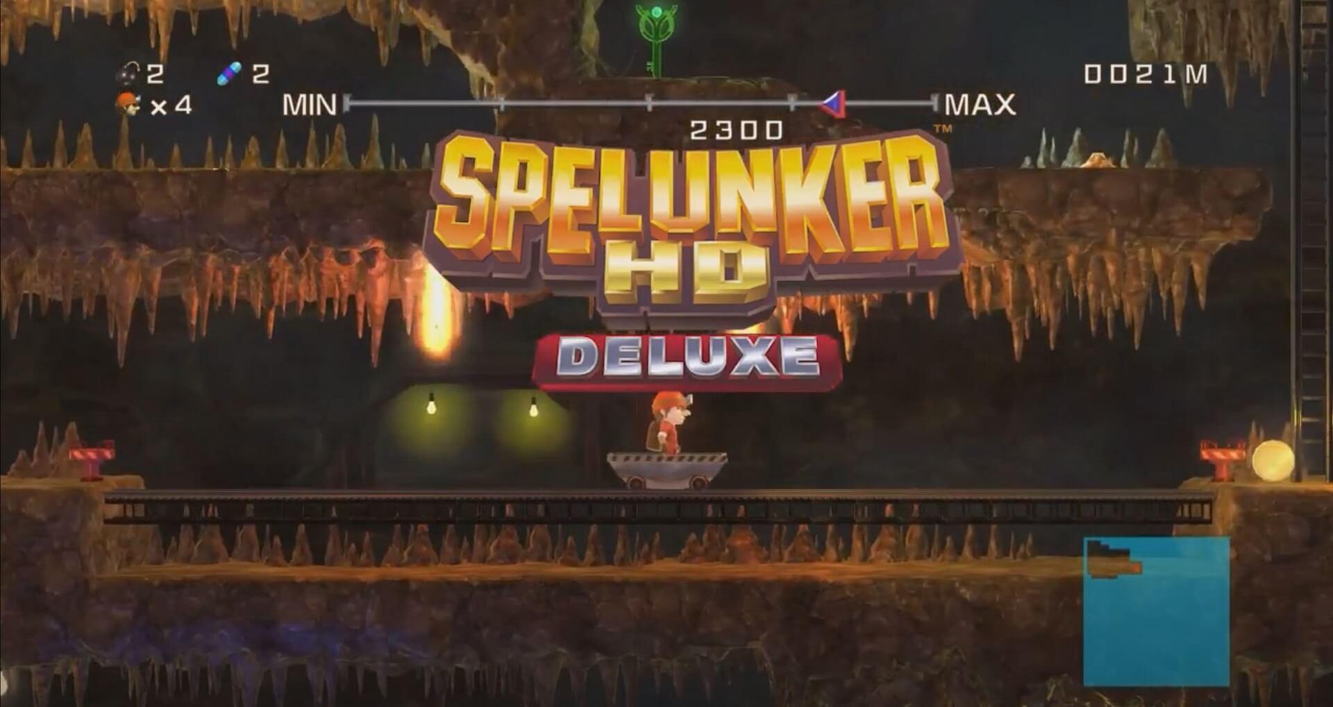 Spelunker HD Deluxe: Retro-Klassiker kommt auch auf den westlichen Markt