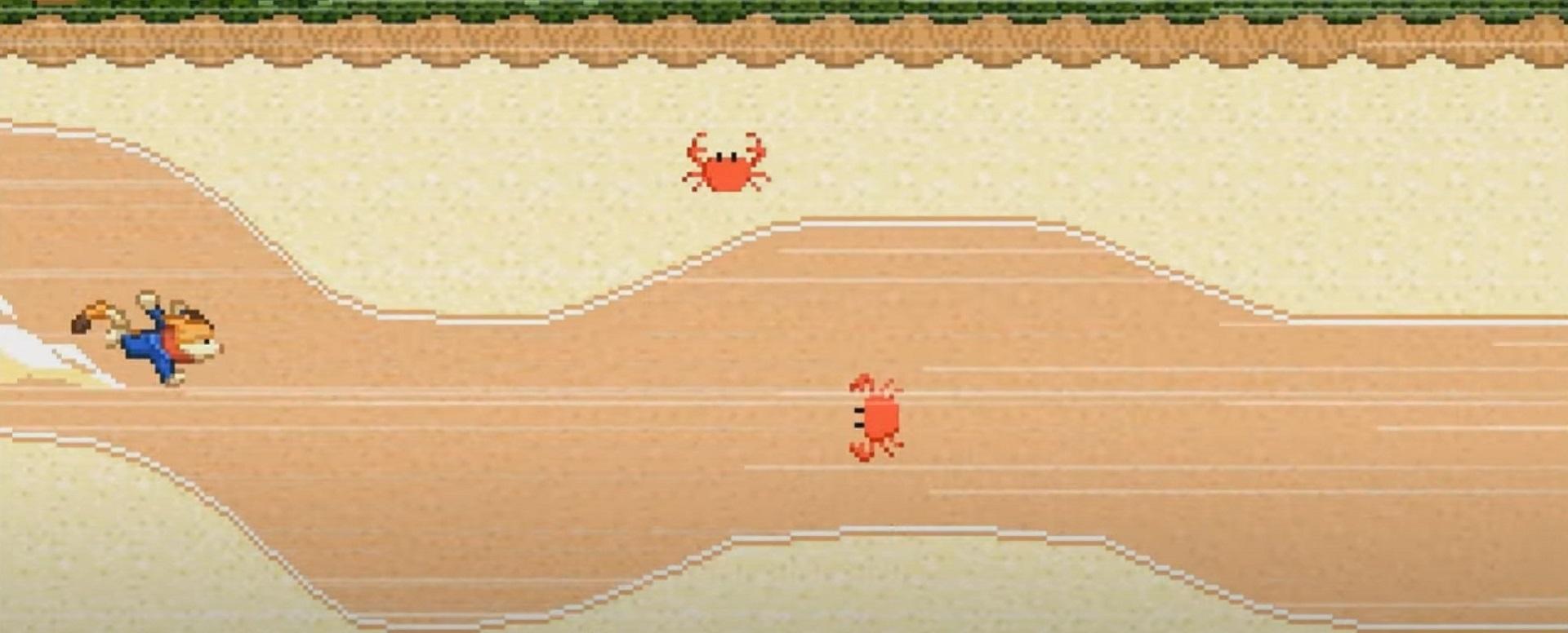Speedrunner duellieren sich im Olympia Google Doodle