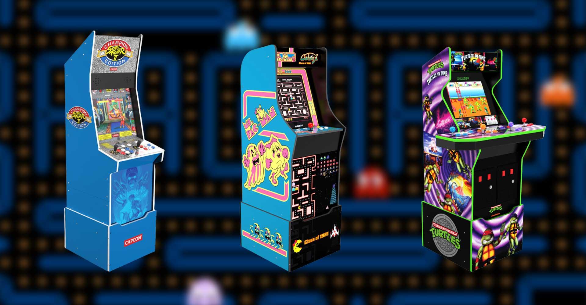Arcade1Up veröffentlicht drei weitere Arcade-Automaten