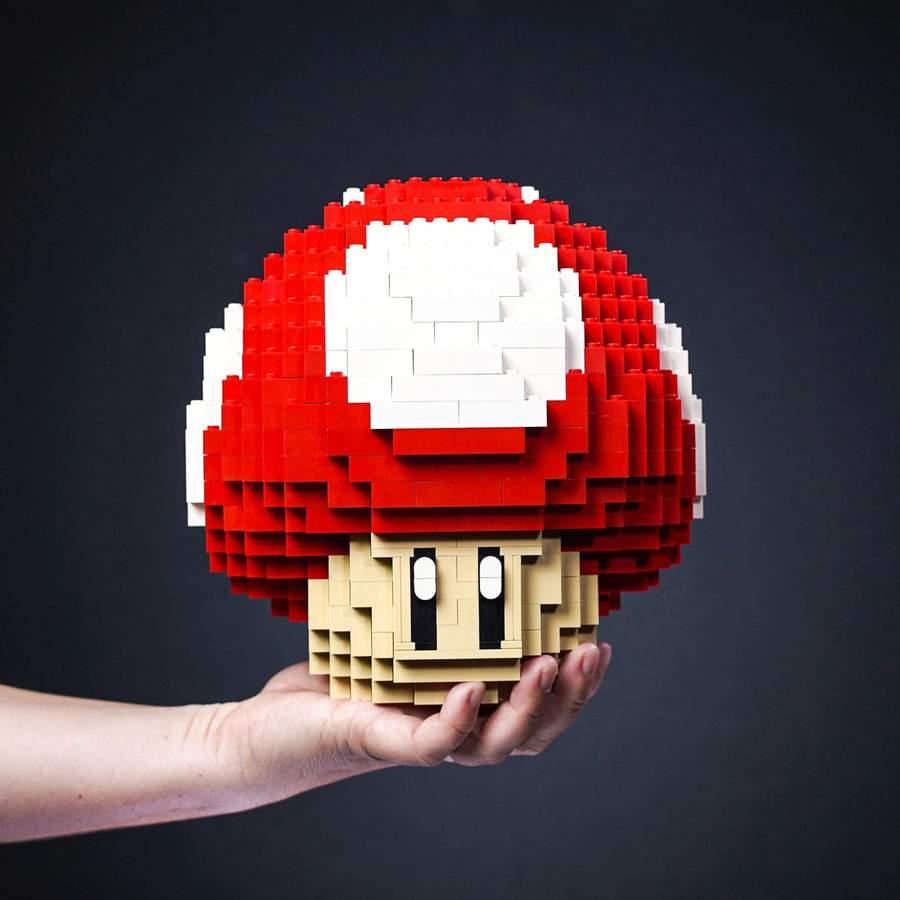Bricker Builds: Pilz aus Lego