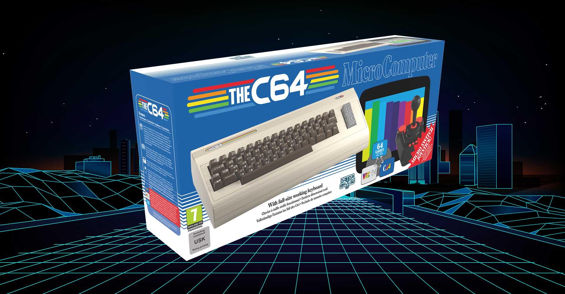 Retro- und Minikonsolen #9 C64 Maxi: Nachbildung in Original-Größe
