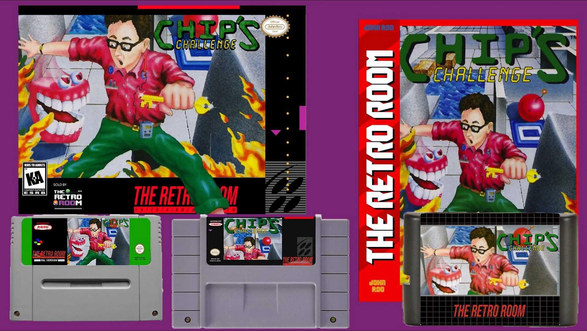 Chip's Challenge für den SNES und Sega Genesis / Mega Drive