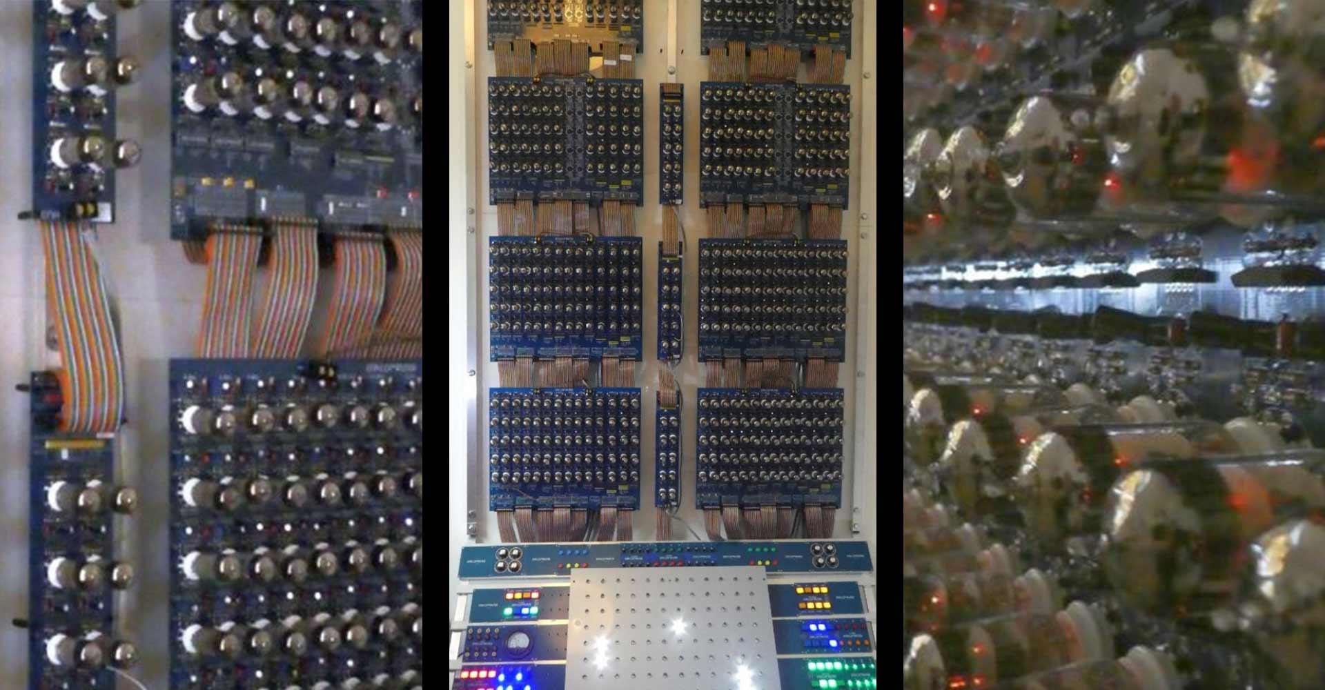 Elektronikbastler baut 50er Jahre-Computer nach