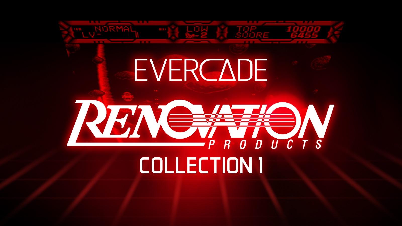 Evercade: Renovation Collection 1 bietet seltene Spiele für die Konsole