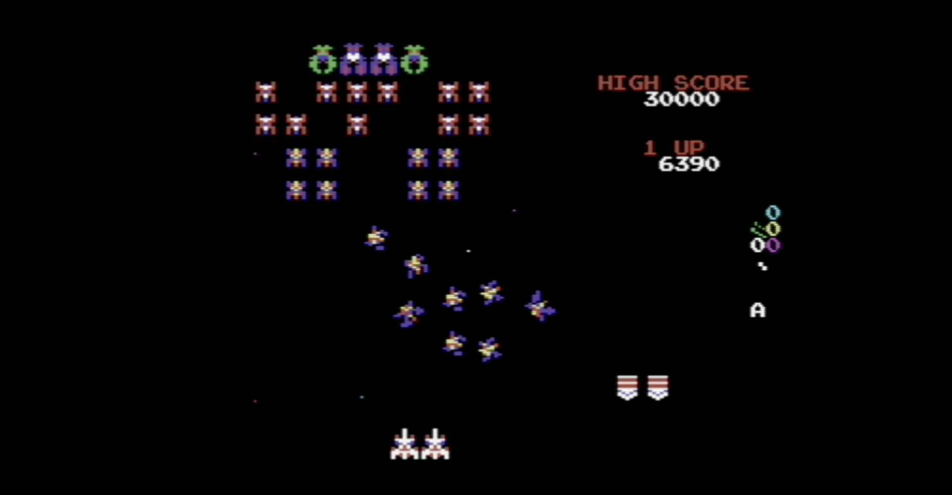 Galaga: Arcade-Klassiker auf dem C64