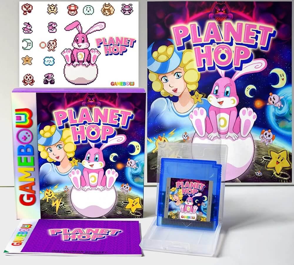 Planet Hop –Ein Hase rettet Welten