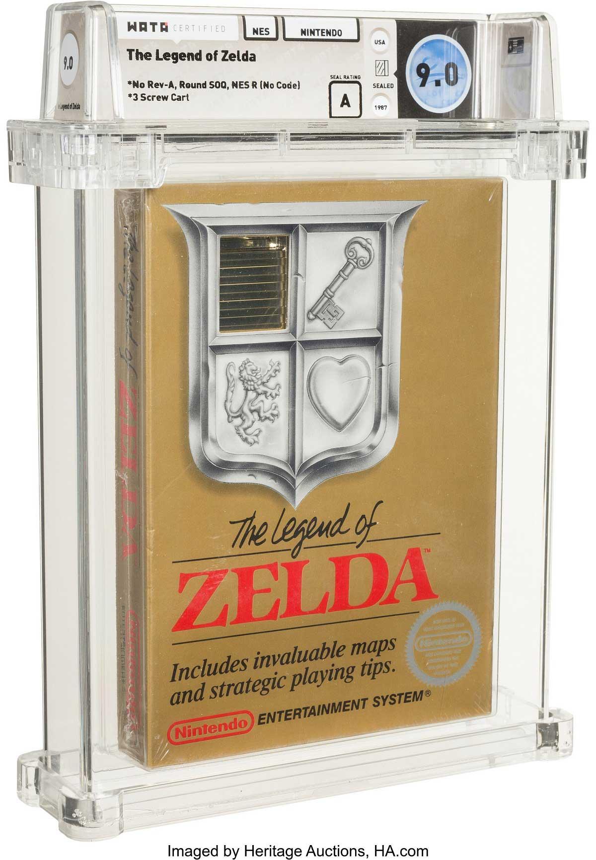Nintendo: Ultra seltene Version des NES-Klassikers The Legend of Zelda wird versteigert