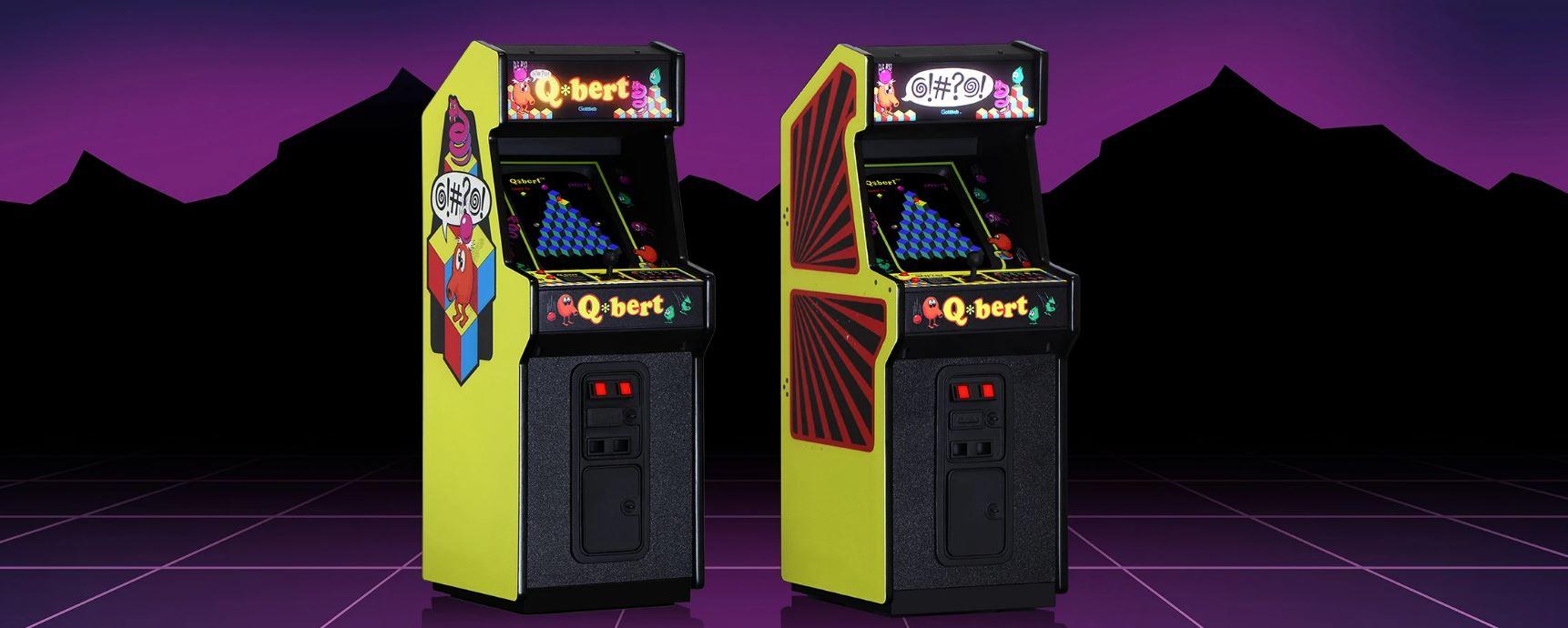 RepliCade: Q*Bert Mini-Arcade vorgestellt